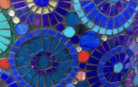Blanket Mosaic Detail.