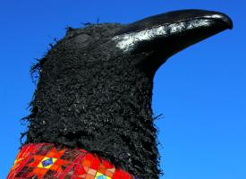 Medicine Raven Totem.