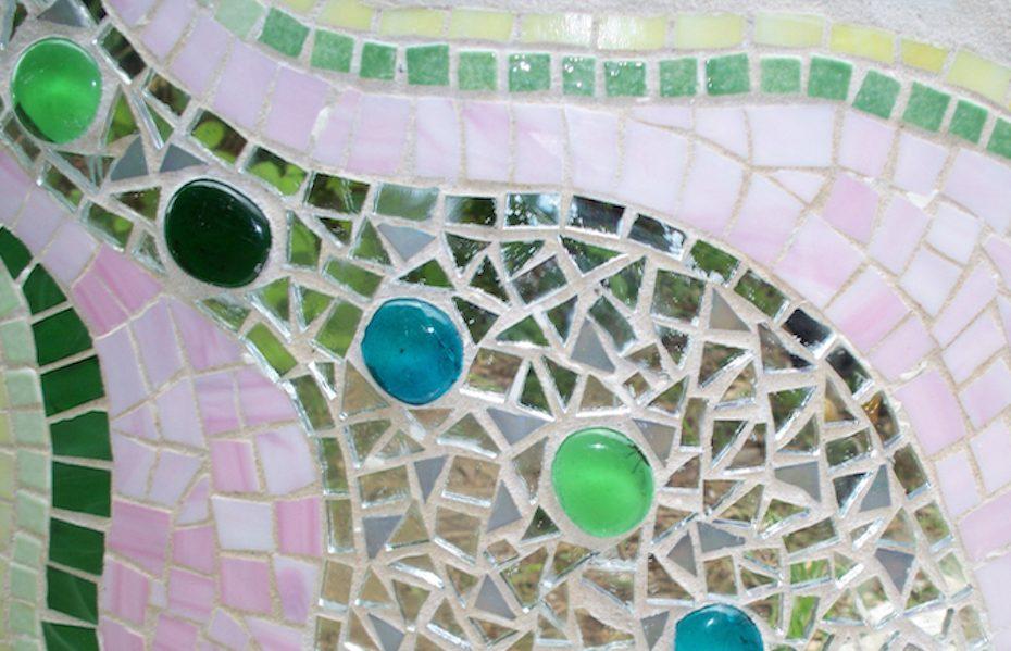 trial slide mosaic detail