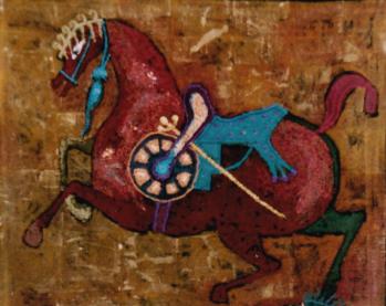 Three Horses.