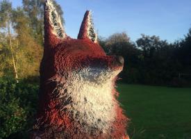 Medicine Fox Totem.